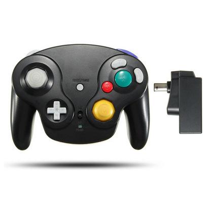 NGC Gamepad NGC không dây xử lý NGC 2.4G xử lý tương thích Wii 5 màu điểm chế độ riêng tư