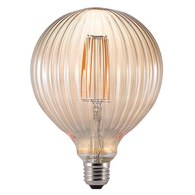 NORDLUX Avra nâu bóng đèn dây tóc, thủy tinh, E27, 2 watt