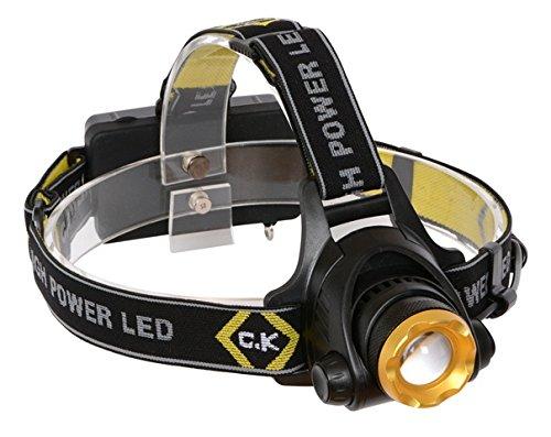 Bộ đèn pha LED Lumen có thể sạc lại C.K T9620R 200