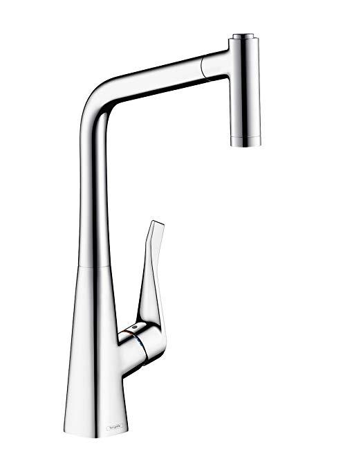Vòi nước Thép không gỉ cho nhà bếp, chiều cao 320 mm .