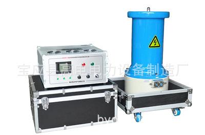 Internal water-cooled DC high voltage test device for DC high voltage generator of water-cooled gene