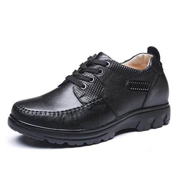 Giày thể thao nam đế cao chất liệu da XINJIAODU