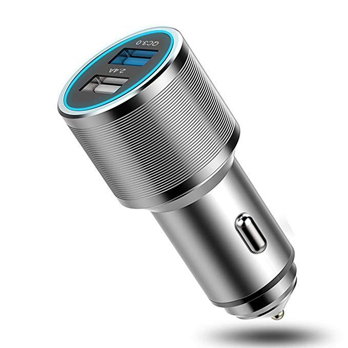 Đầu cắm sạc USB cho xe hơi , sản phẩm tuyệt vời giúp sạc nhanh chóng .