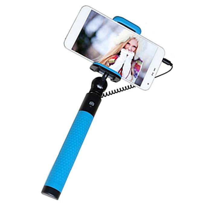 Tiya selfie thanh điện thoại di động điều khiển dòng ảnh tự sướng thanh phổ travel selfie stick cho