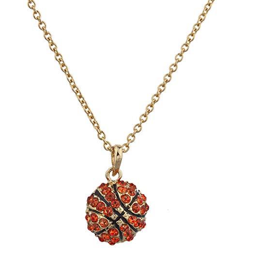 Lux phụ kiện  vòng cổ vàng và đá nhân tạo màu đỏ.