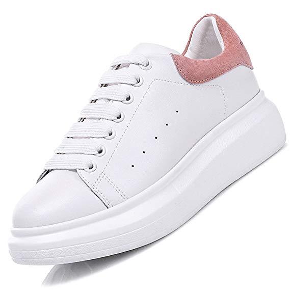 Giày thể thao nữ trắng đế cao Playboy L129710550
