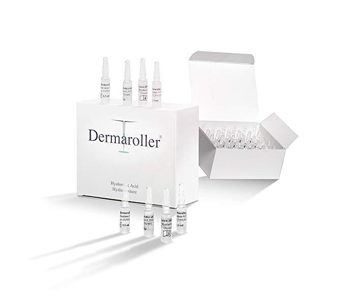 Đức Dermaroller Hyaluronic Chiết Xuất Từ Axit Tinh Chất Giữ Ẩm Blemish Làm Trắng 1.5 ml * 30 cái Sup