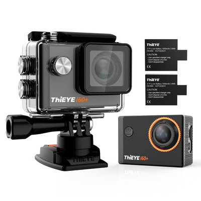 ThiEYE i60+ 4K wifi sports DV camera 16MP 170 degree wide angle 2 inch display