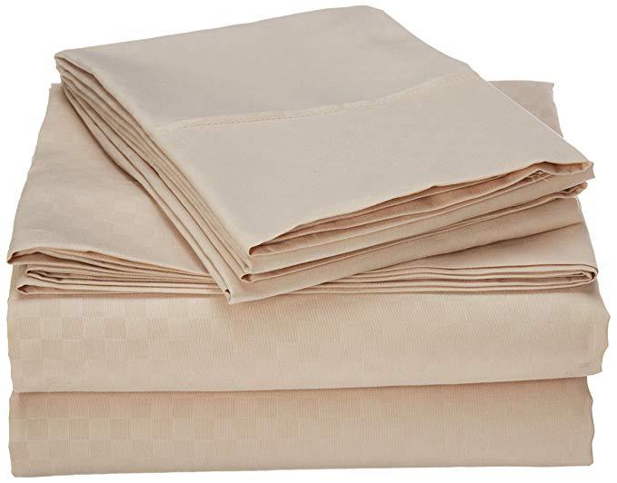 Bộ khăn trải giường chất lượng Ai Cập Celine Linen, bộ khăn trải giường mềm mượt và thoải mái, 1500