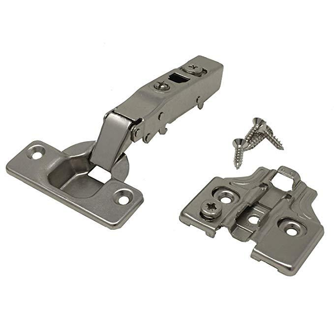 Nhà cung cấp : Bản lề - xấp xỉ mềm - có đầy đủ 105 ° bạc 2 Cặp HIN-ESCFL-4 .