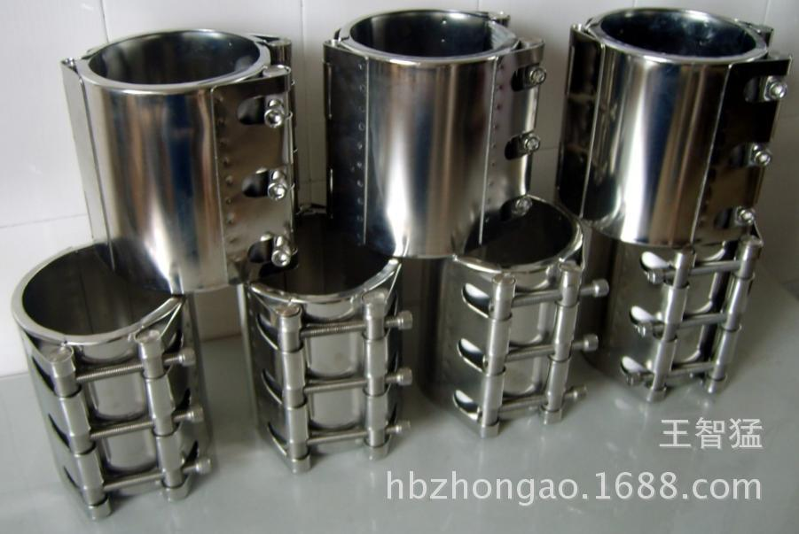 Sự kéo dài đường ống bán loại thiết bị sửa chữa, thép không gỉ ống United clip RCH-L, 350A