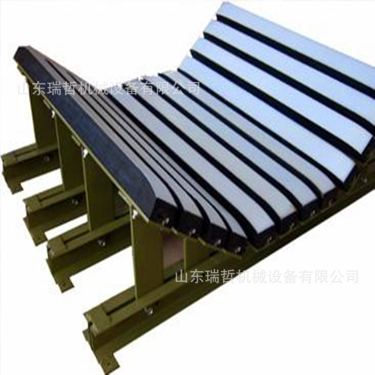 Manufacturer supply belt conveyor high quality and durable trough supporting roller coal mine heavy