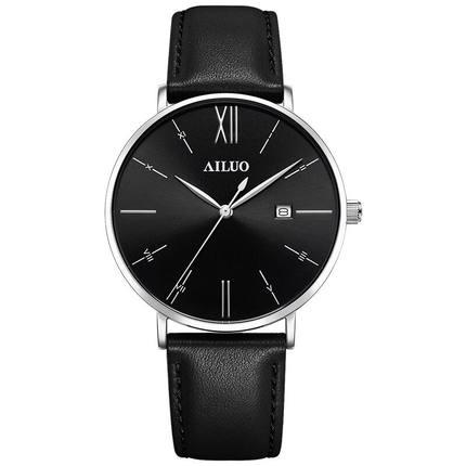 Aino chính hãng xem đồng hồ nam không thấm nước thời trang nam giới 2018 mới đơn giản xu hướng vành