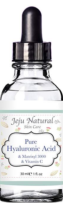 Tinh chất axit Hyaluronic PURE & Vitamin C Matrixyl - Naturals JEJU - 73,75 ml - Chất chống nhăn tự