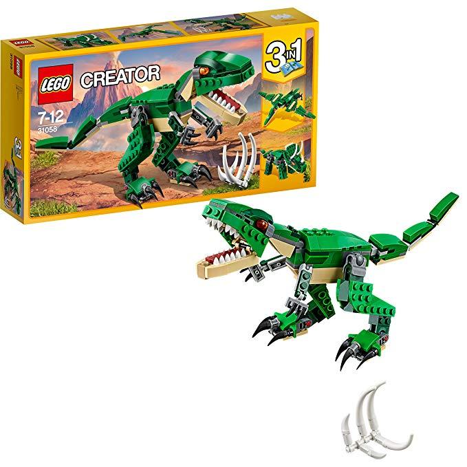 Lắp ráp LEGO mô hình con khủng long  Tyrannosaurus 31058