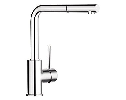 Vòi nước cho bồn rửa nhà bếp bằng thép không gỉ .