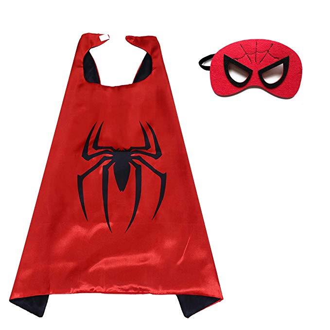 Muzboo * Anh hùng áo choàng và mặt nạ Halloween Giáng sinh trang phục tiệc sinh nhật và ăn mặc - Quà