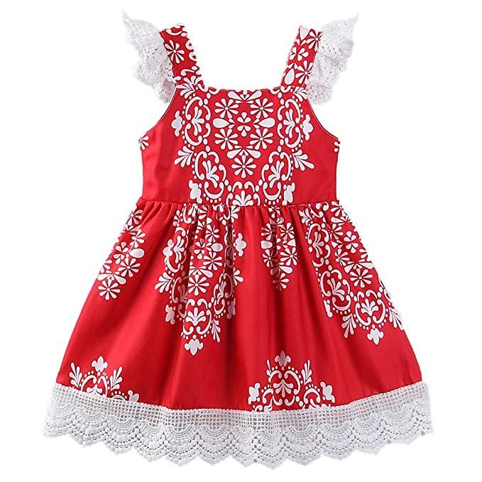 Samgami bé Trẻ Em Châu Âu và Mỹ mùa hè mới cô gái ăn mặc Không Tay ren treo dress Dễ Thương thời tra