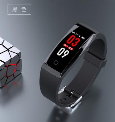W8 màn hình màu vòng đeo tay thông minh Bluetooth tập thể dục nhịp tim huyết áp thông tin nhắc nhở c