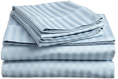 BELLA kline Deluxe 1800 Bộ khăn trải giường sọc