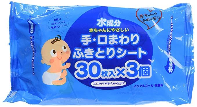 Showa Paper Worker Water Thành phần Tay và miệng xung quanh khăn lau 3P