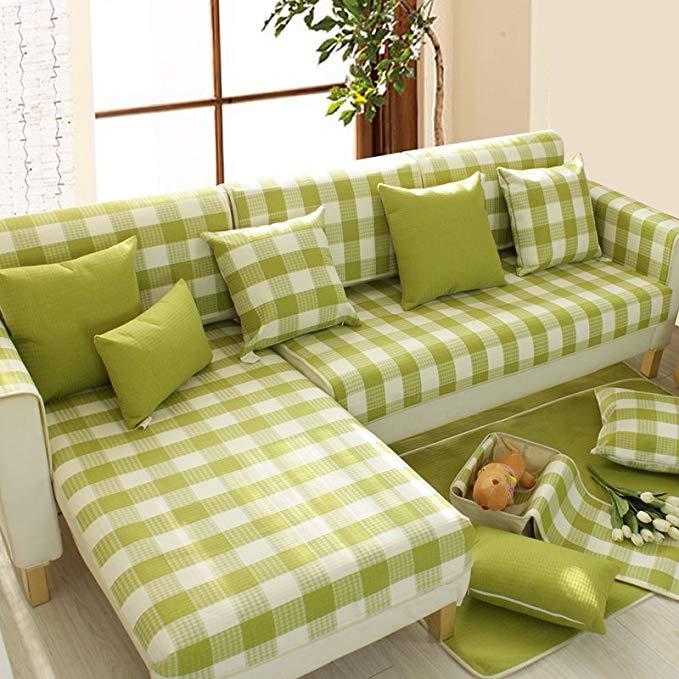 Le Wei Shi sofa đệm đặt bốn mùa bông vải vườn sofa khăn 123 kết hợp sofa sofa đệm có thể được tùy ch