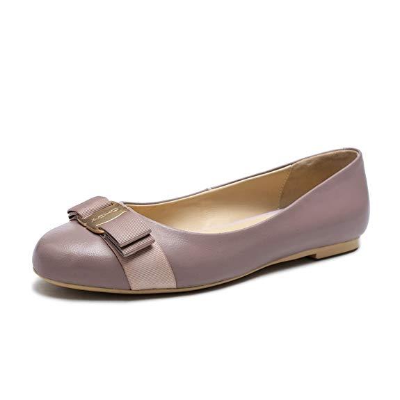 Giày búp bê Da Thời Trang dành cho Nữ , Thương Hiệu : ACHO - AK-S010