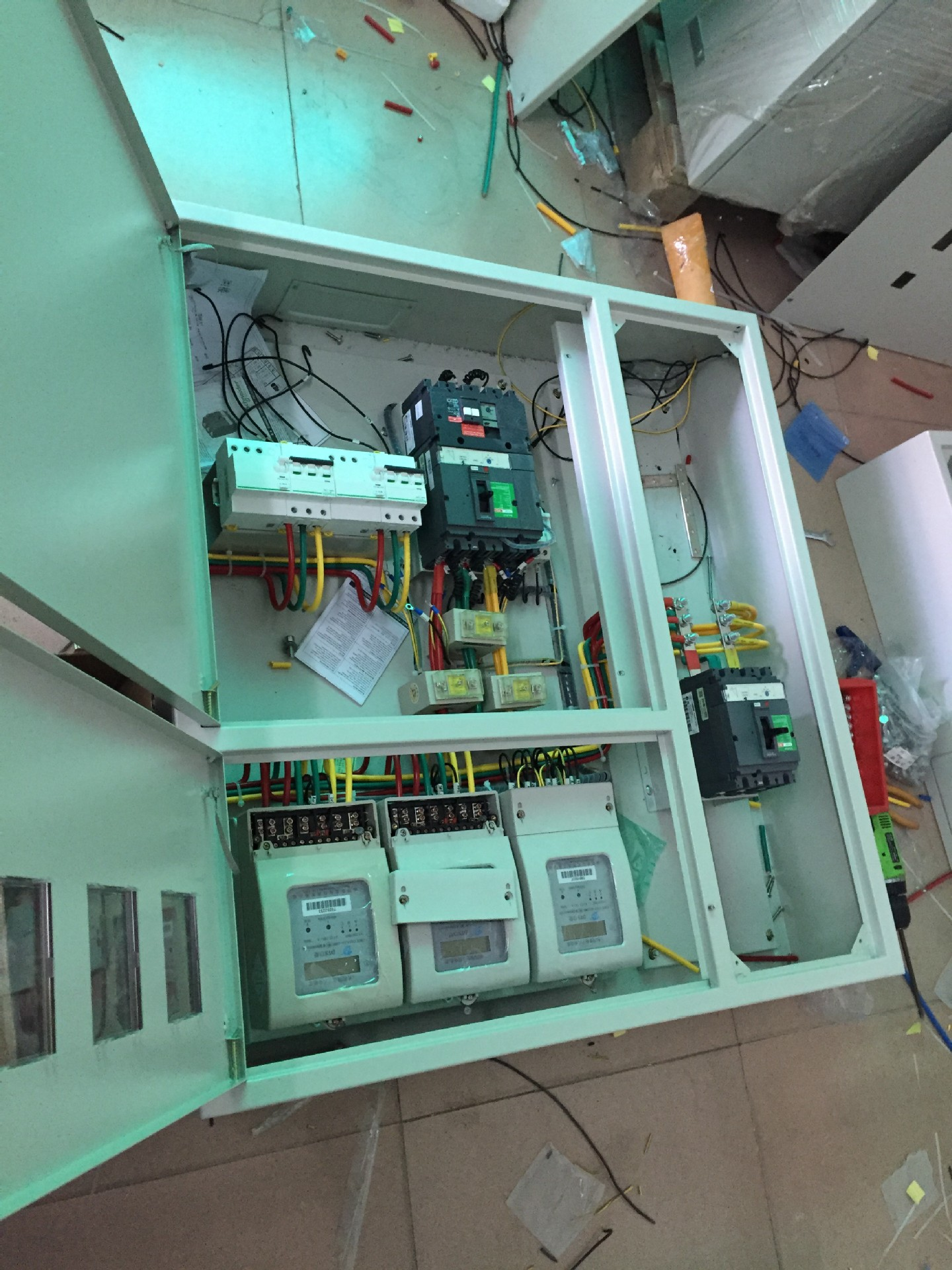 Factory customized intelligent lighting distribution box power distribution cabinet complete control