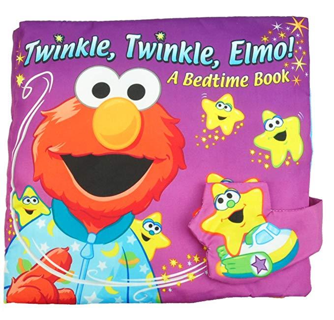 Cuốn sách cuốn sách vải cuốn sách Elmo mềm cuốn sách nhỏ
