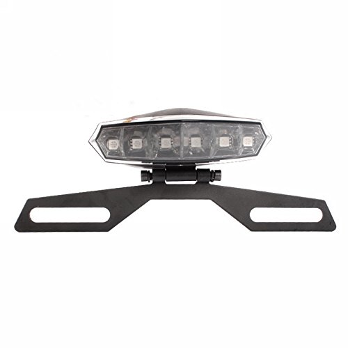 Metia đèn xe máy LED đèn phanh sửa đổi xe máy đèn trang trí xe điện 12 V đèn xe đèn trang trí đèn hậ