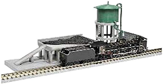 Mô hình sản xuất than và đường ray, đầu tàu hỏa TOMYTEC