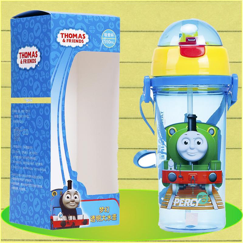 Thomas Fantasy transparent xách tay dây đeo ống nhựa môi trường bán buôn quần áo trẻ em