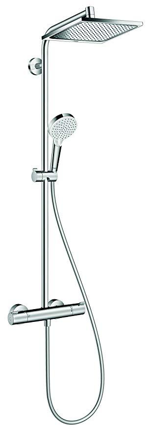 Hệ thống vòi sen Hansgrohe Hansgrohe Crometta E 240, 2 chế độ, chrome