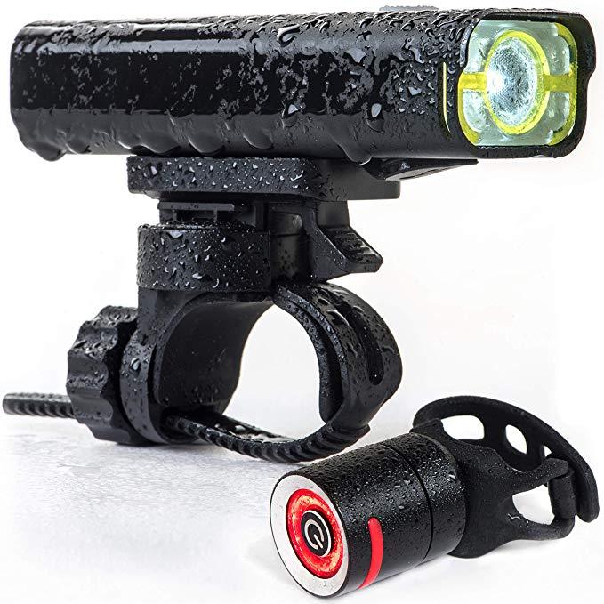 Đèn pha LED xe đạp độ sáng cao