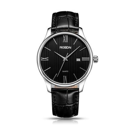 Lao Shidun chính hãng siêu mỏng vài đồng hồ một cặp đồng hồ kinh doanh thời trang thắt lưng da không