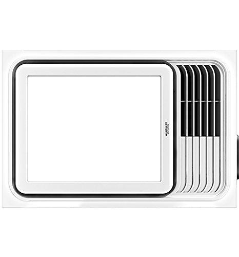 Aopu siêu mỏng gió sưởi ấm chiếu sáng ba trong một phòng tắm QDP5220AS 2200W 300 × 450mm
