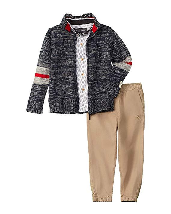 Bộ áo len và quần dài cho bé trai English Laundry