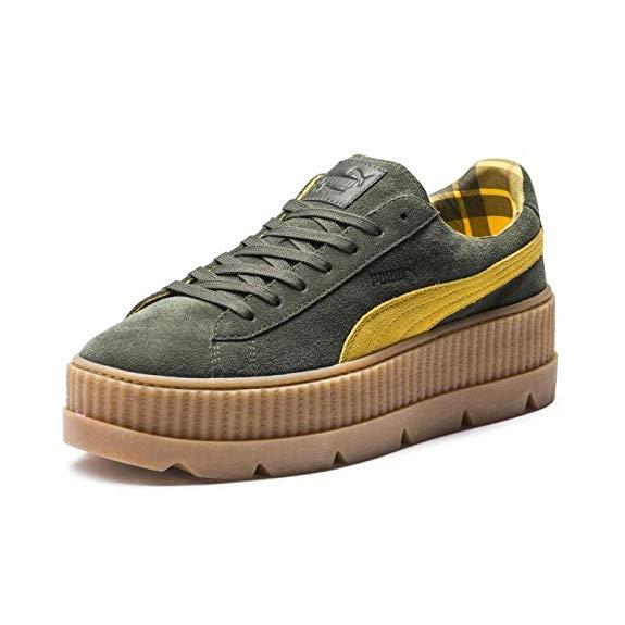 Giày vải thể thao đế cao Puma