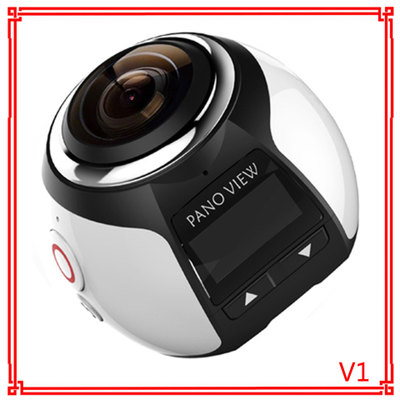 360 máy ảnh toàn cảnh Lái Xe ghi VR camera dưới nước motion camera máy ảnh kỹ thuật số 360 thể thao