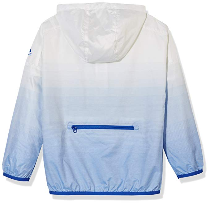 Adidas trẻ em Adidas nam trẻ em len áo khoác CV5441 trắng / xanh YB ULTRA WBKR