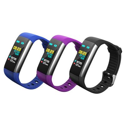 Camisa K6 màn hình màu vòng đeo tay thông minh heart rate huyết áp blood oxygen waterproof pedometer