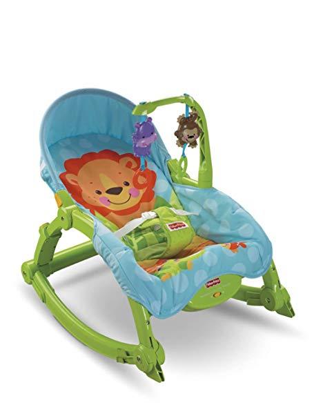 Ghế nằm cho bé có chế độ rung Hiệu Rocker W2811