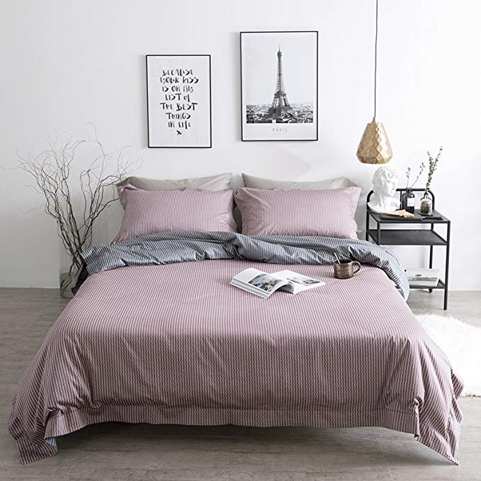 Bộ khăn trải giường vải cotton nguyên chất