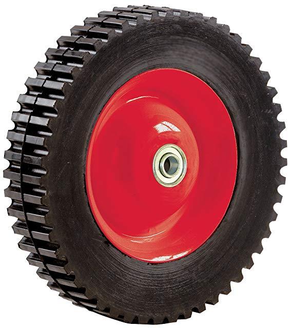 Lốp bánh xe cao su , trung tâm bằng thép