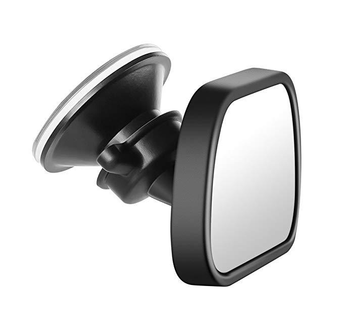 Gương ghế Reer car * sáng màu đen