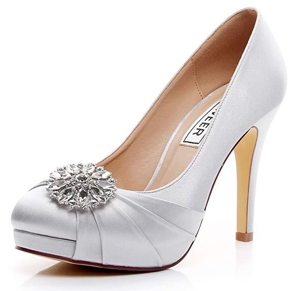 Giày cao gót cô dâu LUXVEER Sheos RS-9805 4.5