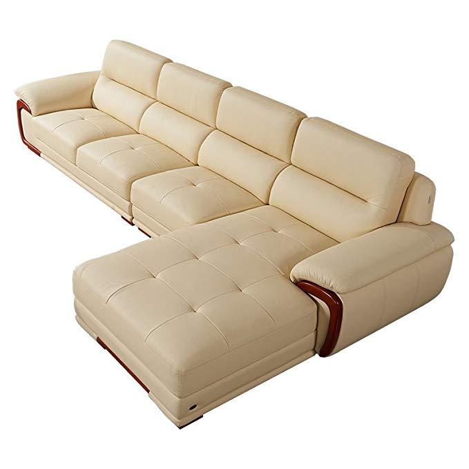 Bộ Ghế sofa vải da dày , chất liệu mềm mịn , thiết kế sang trọng -  dzy2606-1 .
