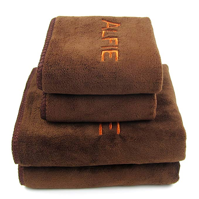 Alfie Pet petoga Couture Distribution - Alfie Sợi nhỏ nhanh khô Pet sấy khăn 4-pc Set