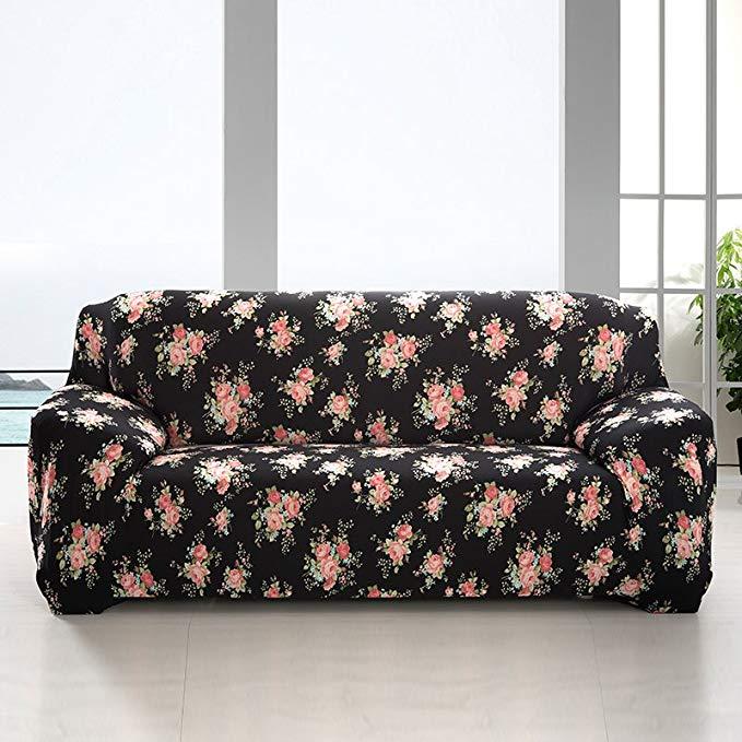 S-EMIGA Shangmeijia Stretch sofa bìa sofa khăn chống bụi che sofa bìa đầy đủ bao phủ sofa đệm (hoa h