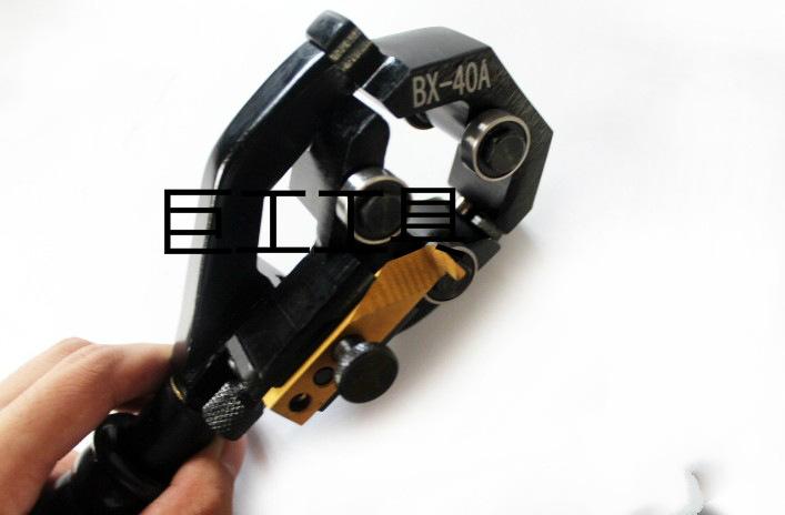 BX-40A nhiều chức năng cáp thiết bị thiết bị lột da có nhiều khả năng cách nhiệt ở bên trên đường dâ